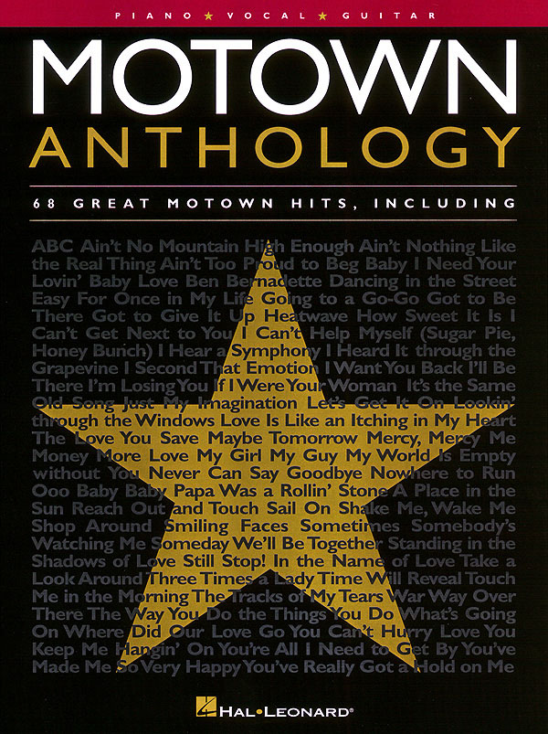 Motown Anthology: Piano  Vocal and Guitar: Vocal Album