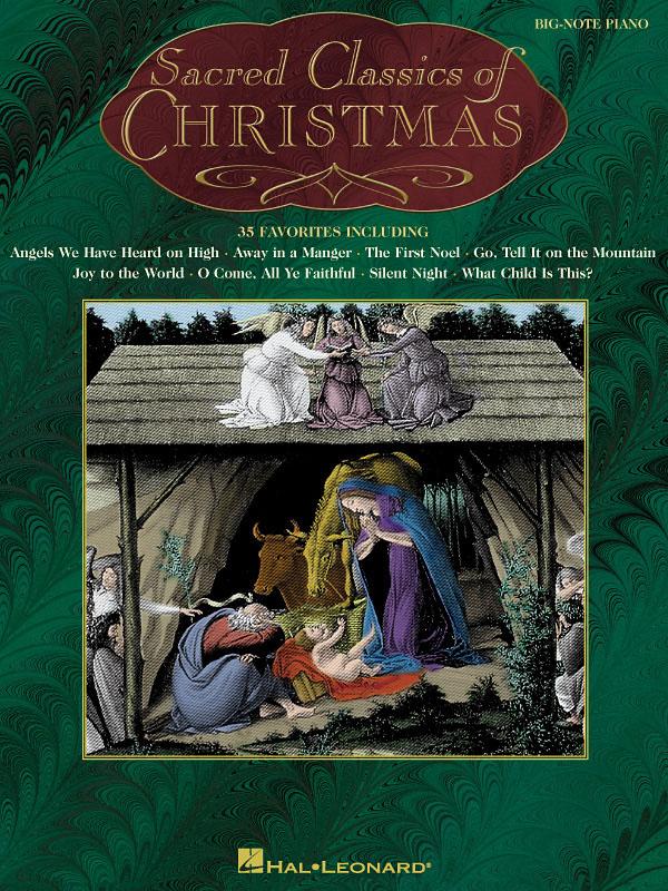 Sacred Classics of Christmas: Piano Solo: Instrumental Album