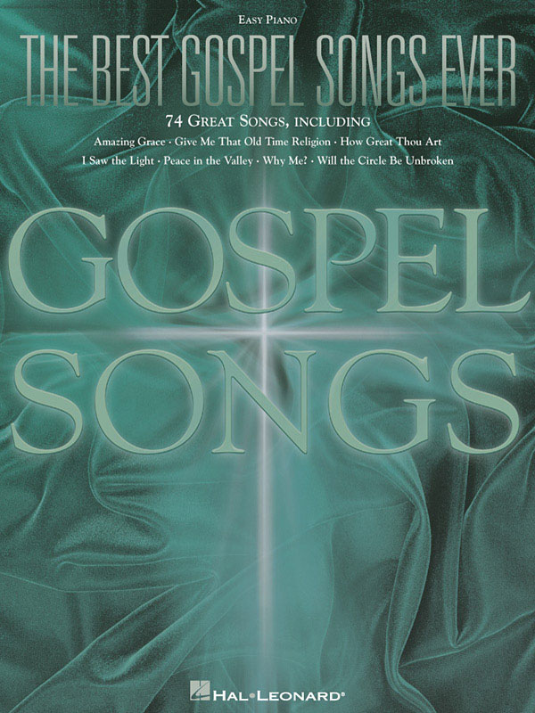 The Best Gospel Songs Ever: Easy Piano: Instrumental Album