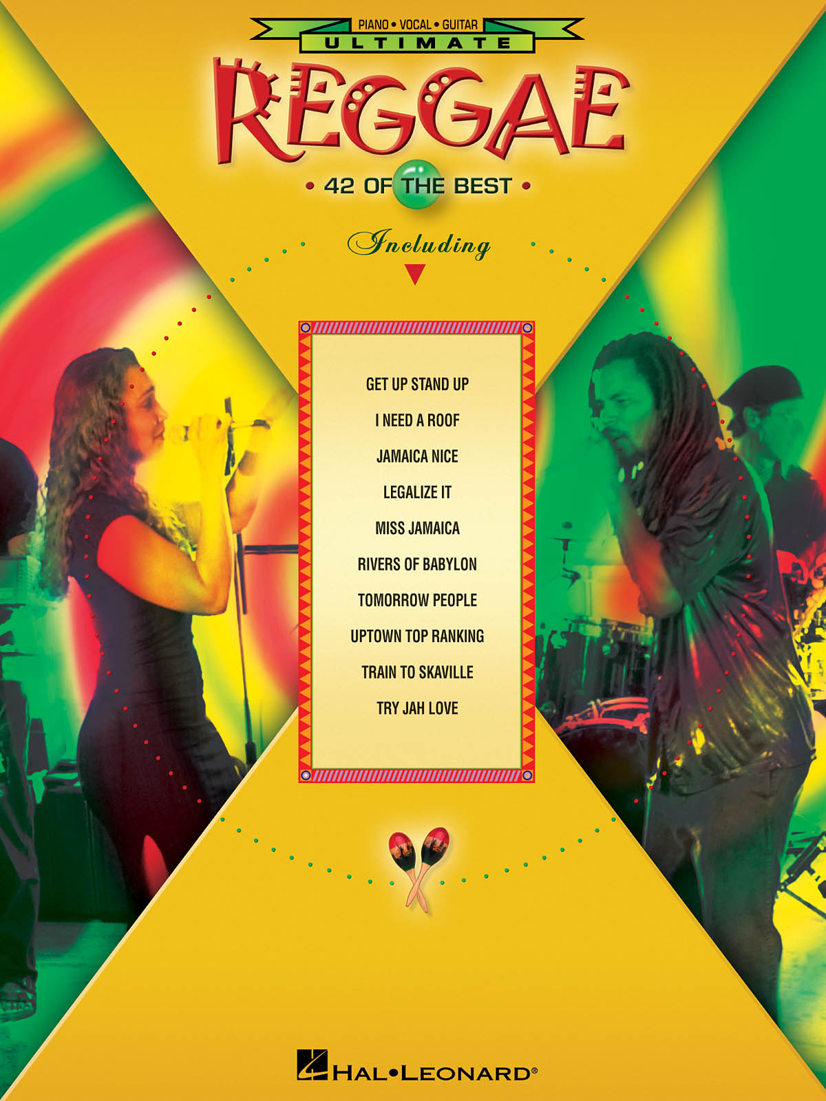 Ultimate Reggae: Piano  Vocal and Guitar: Mixed Songbook
