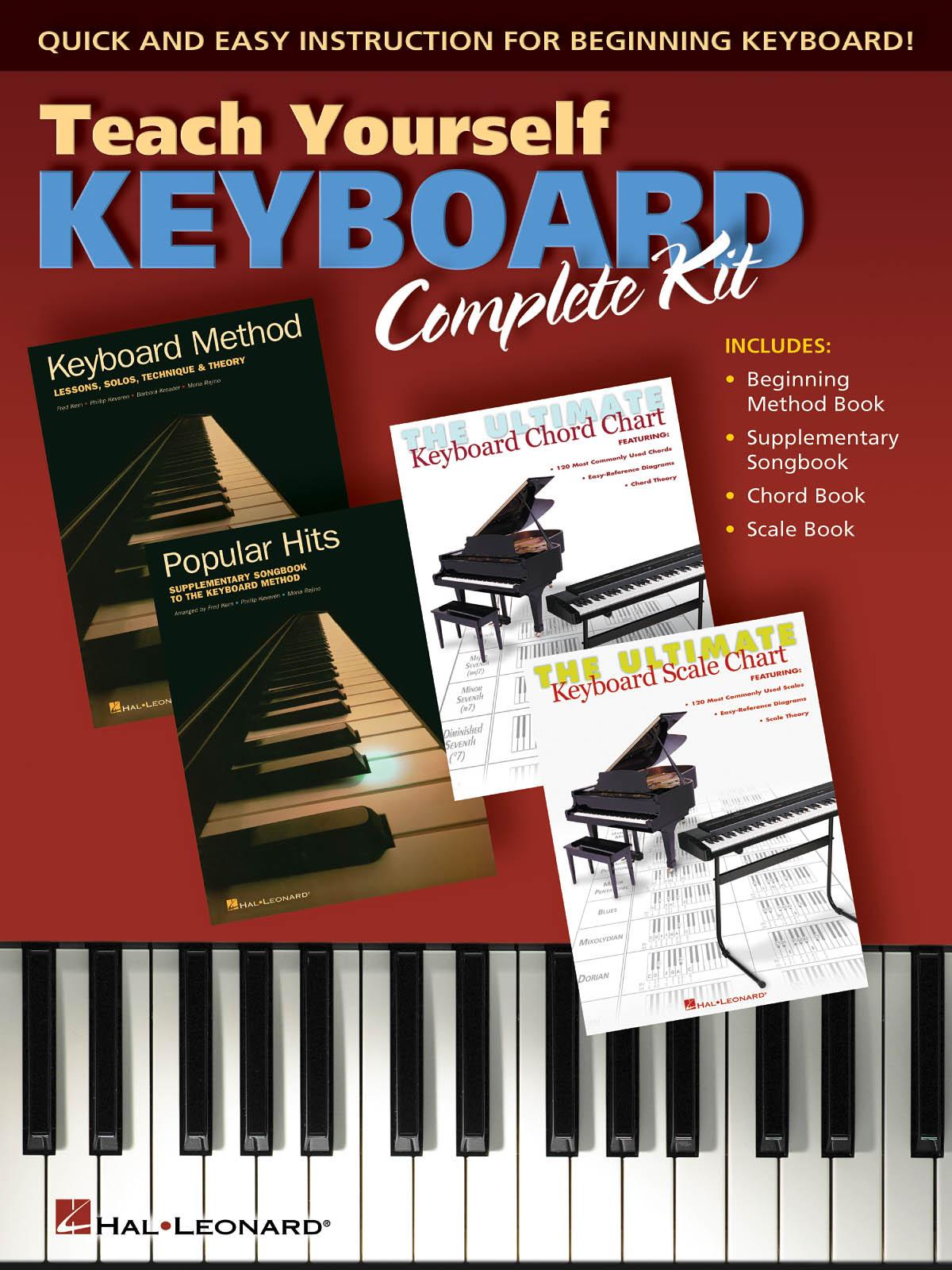Teach Yourself Keyboard - Complete Kit: Piano: Instrumental Album