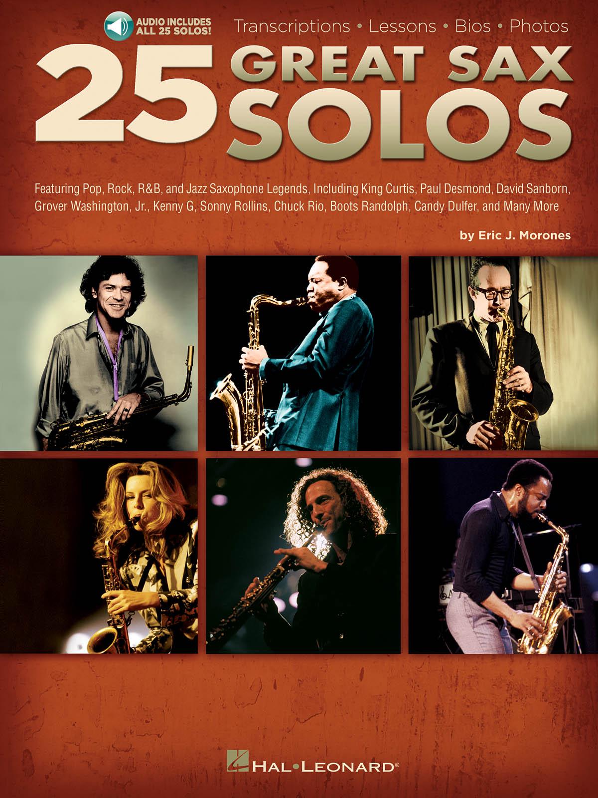 25 Great Sax Solos: Saxophone: Instrumental Tutor
