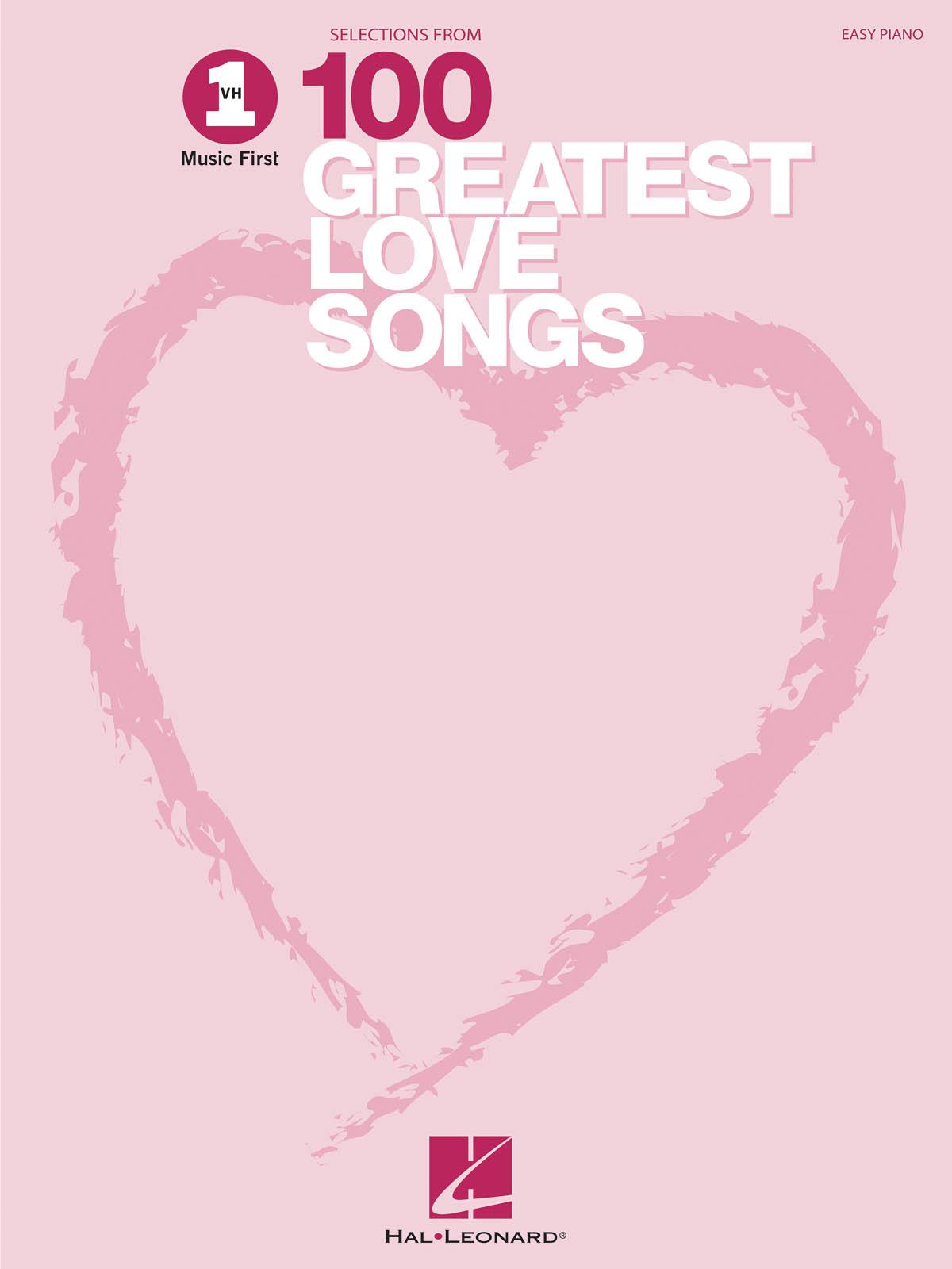 VH1's 100 Greatest Love Songs: Easy Piano: Instrumental Album
