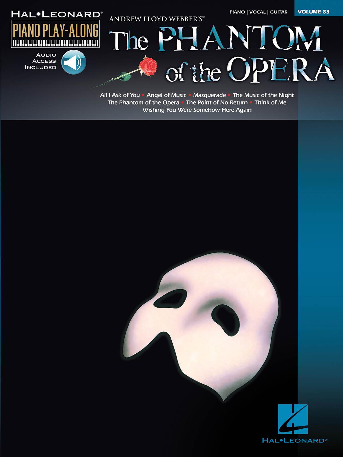 Andrew Lloyd Webber: The Phantom of the Opera: Piano: Vocal Album