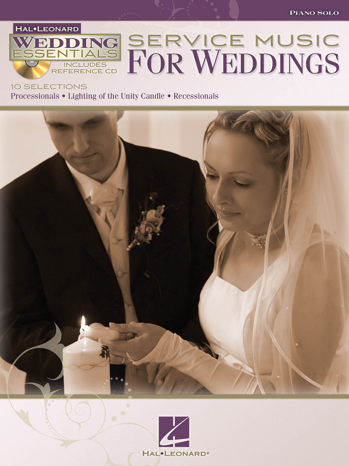 Service Music For Weddings: Piano: Instrumental Album