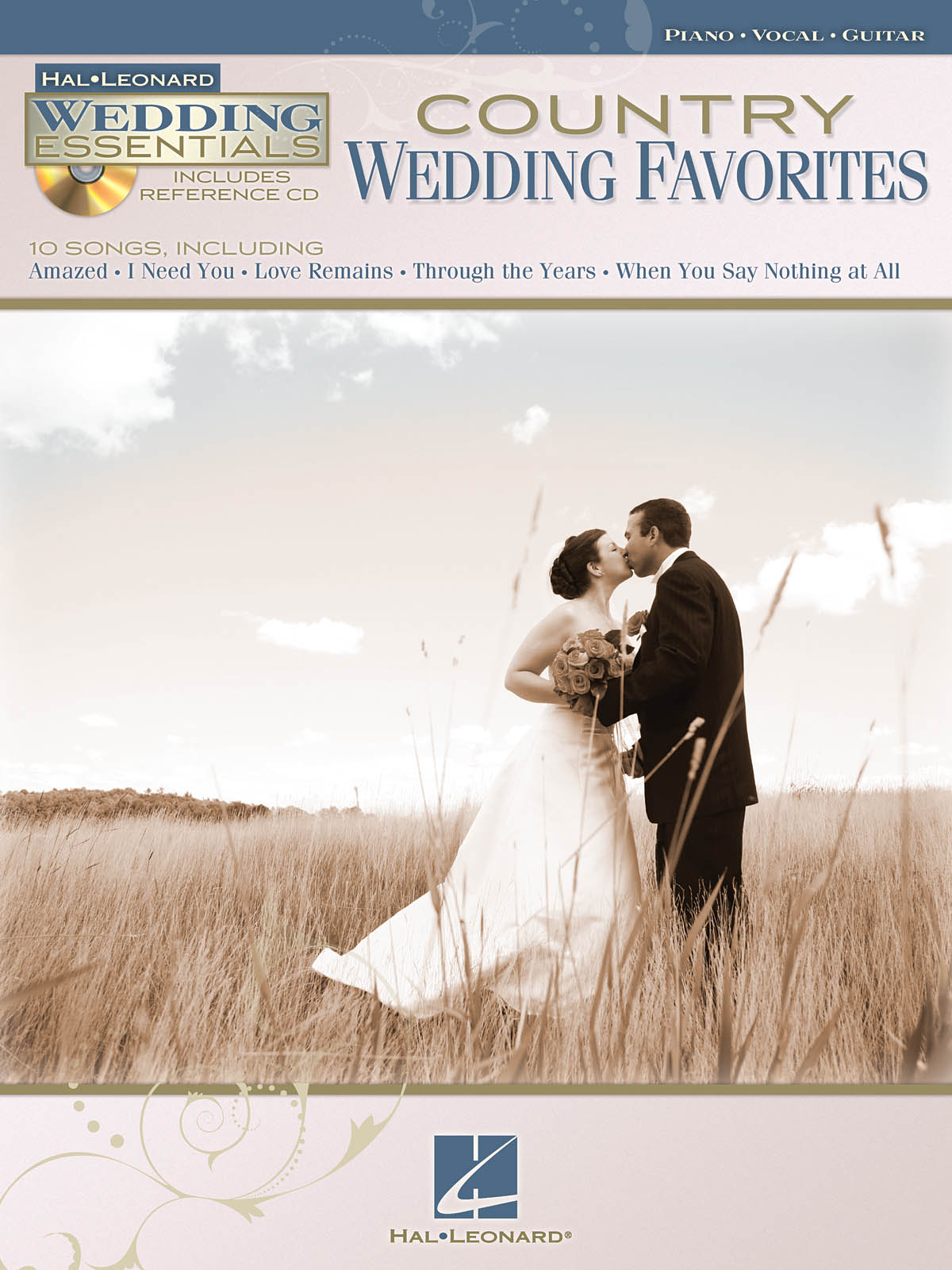 Country Wedding Favorites: Piano  Vocal and Guitar: Mixed Songbook