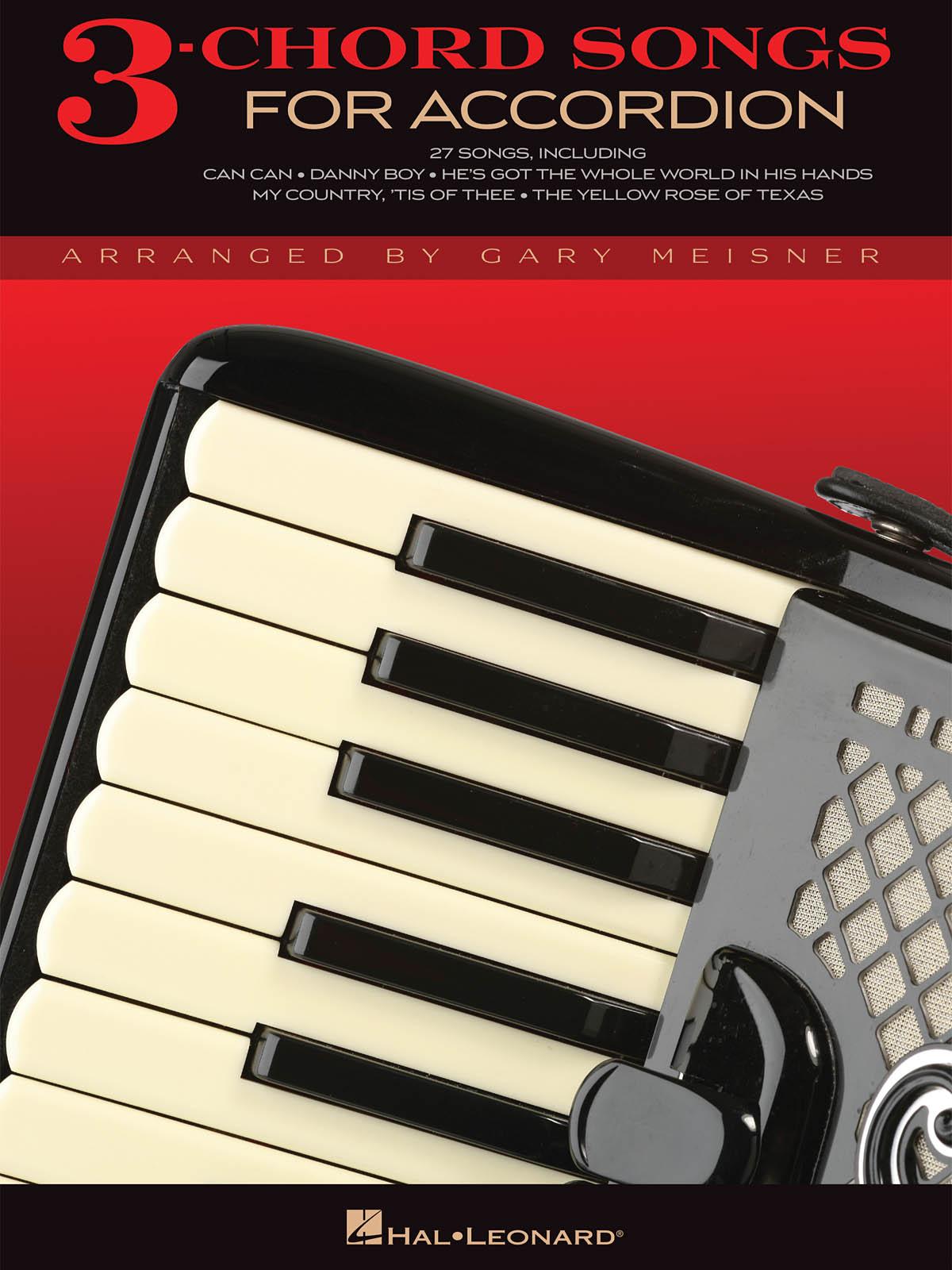 3-Chord Songs for Accordeon: Accordion: Instrumental Album