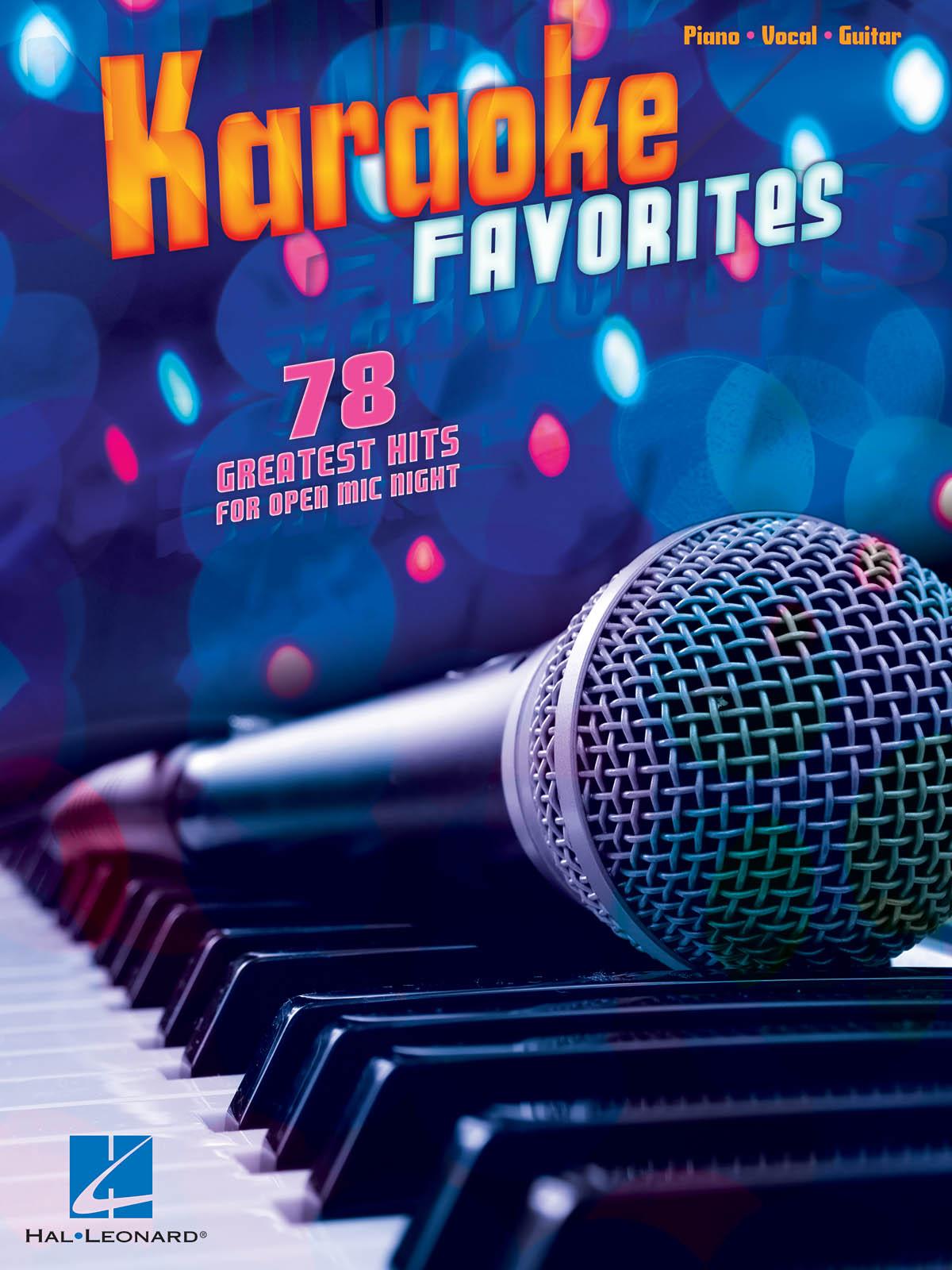 Karaoke Favorites: Piano  Vocal and Guitar: Mixed Songbook