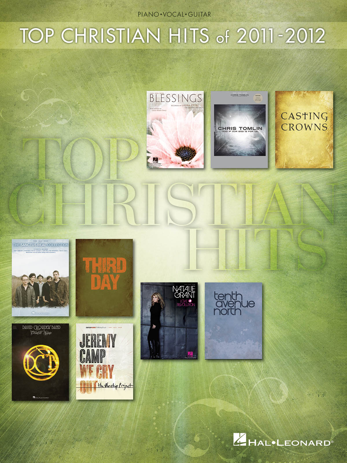 Top Christian Hits of 2011-2012: Piano  Vocal  Guitar: Mixed Songbook