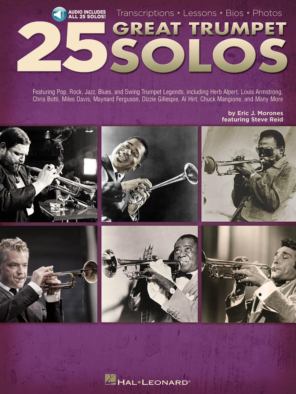 25 Great Trumpet Solos: Trumpet Solo: Instrumental Album