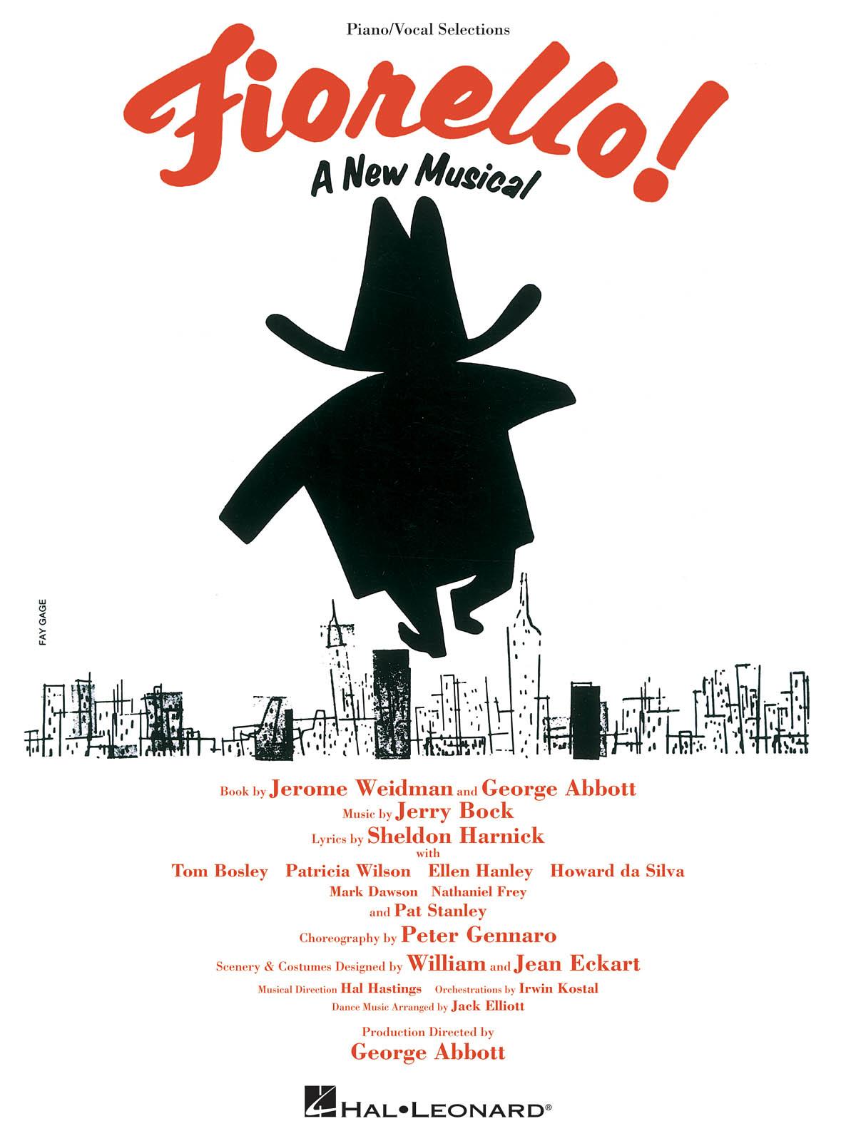 Jerry Bock: Fiorello!: Piano  Vocal and Guitar: Mixed Songbook