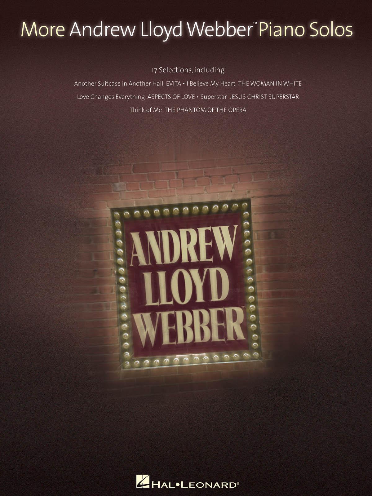 Andrew Lloyd Webber: More Andrew Lloyd Webber Piano Solos: Piano: Instrumental