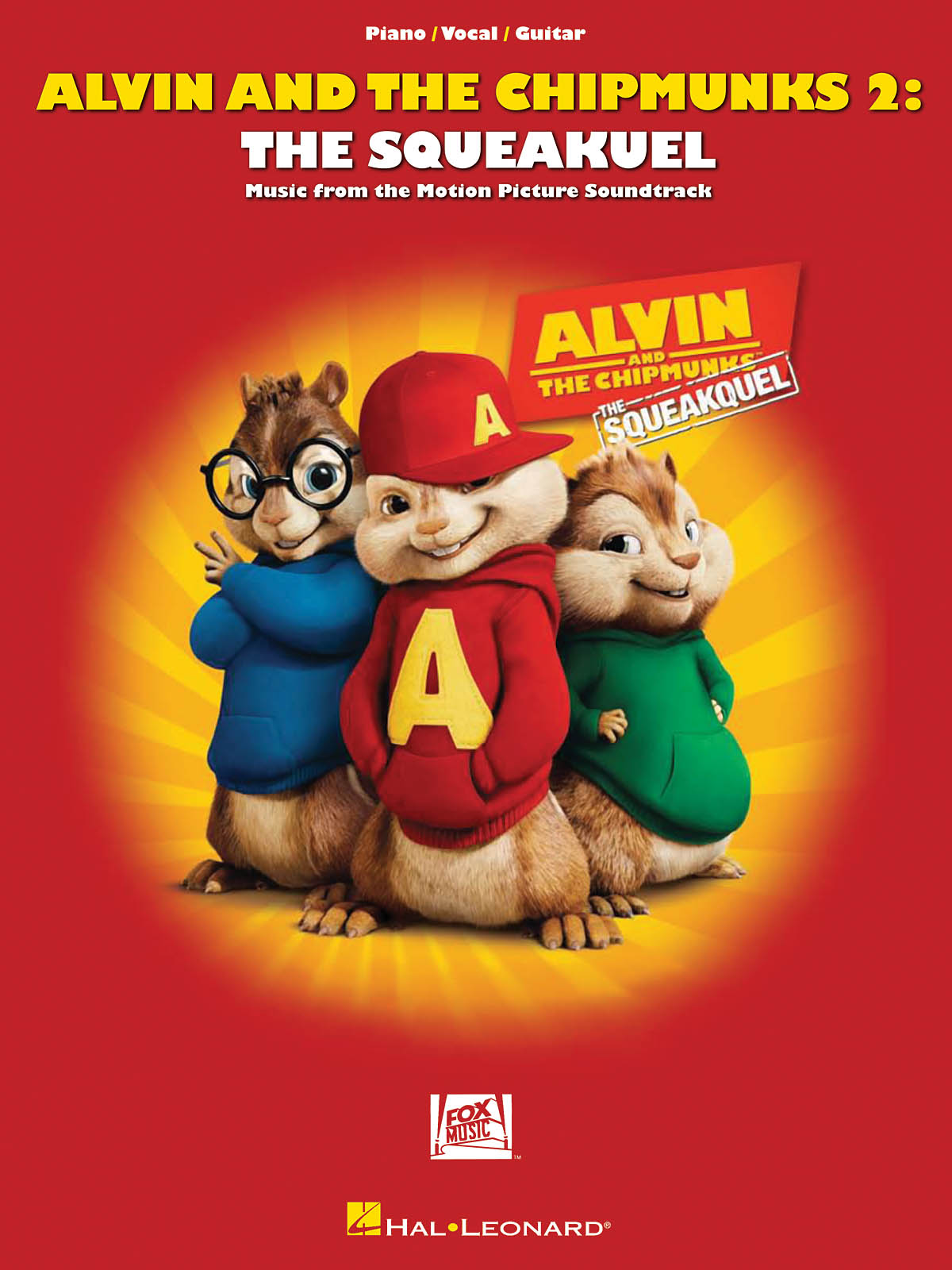 Alvin and the Chipmunks 2: The Squeakquel: Piano  Vocal and Guitar: Mixed
