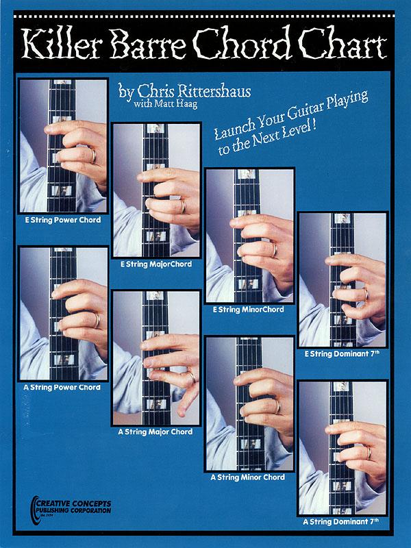 Chris  Rittershaus: Killer Barre Chord Chart: Guitar Solo: Vocal Album