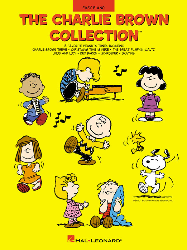 Vince Guaraldi: The Charlie Brown Collection(TM): Easy Piano: Instrumental Album