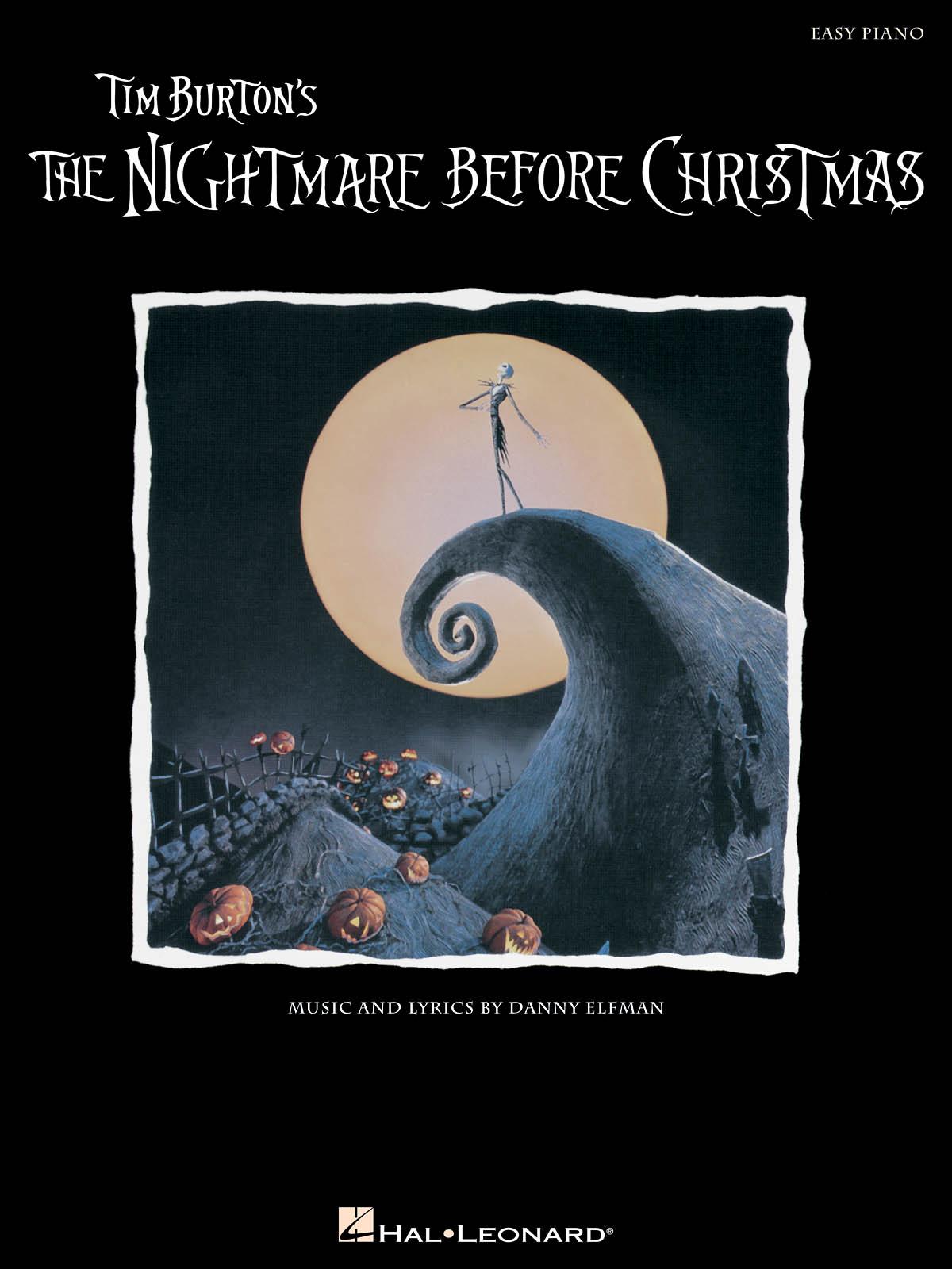 Danny Elfman: The Nightmare Before Christmas: Easy Piano: Instrumental Album