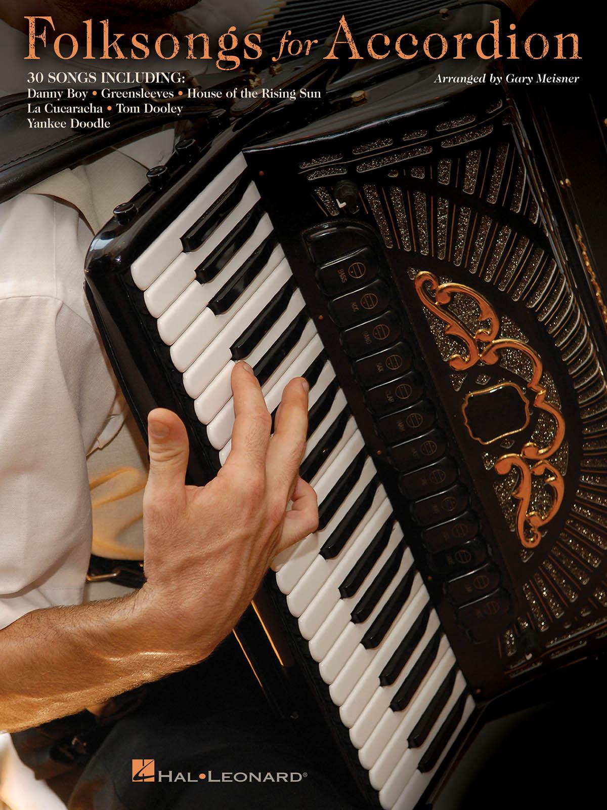 Folksongs for Accordion: Accordion Solo: Instrumental Album