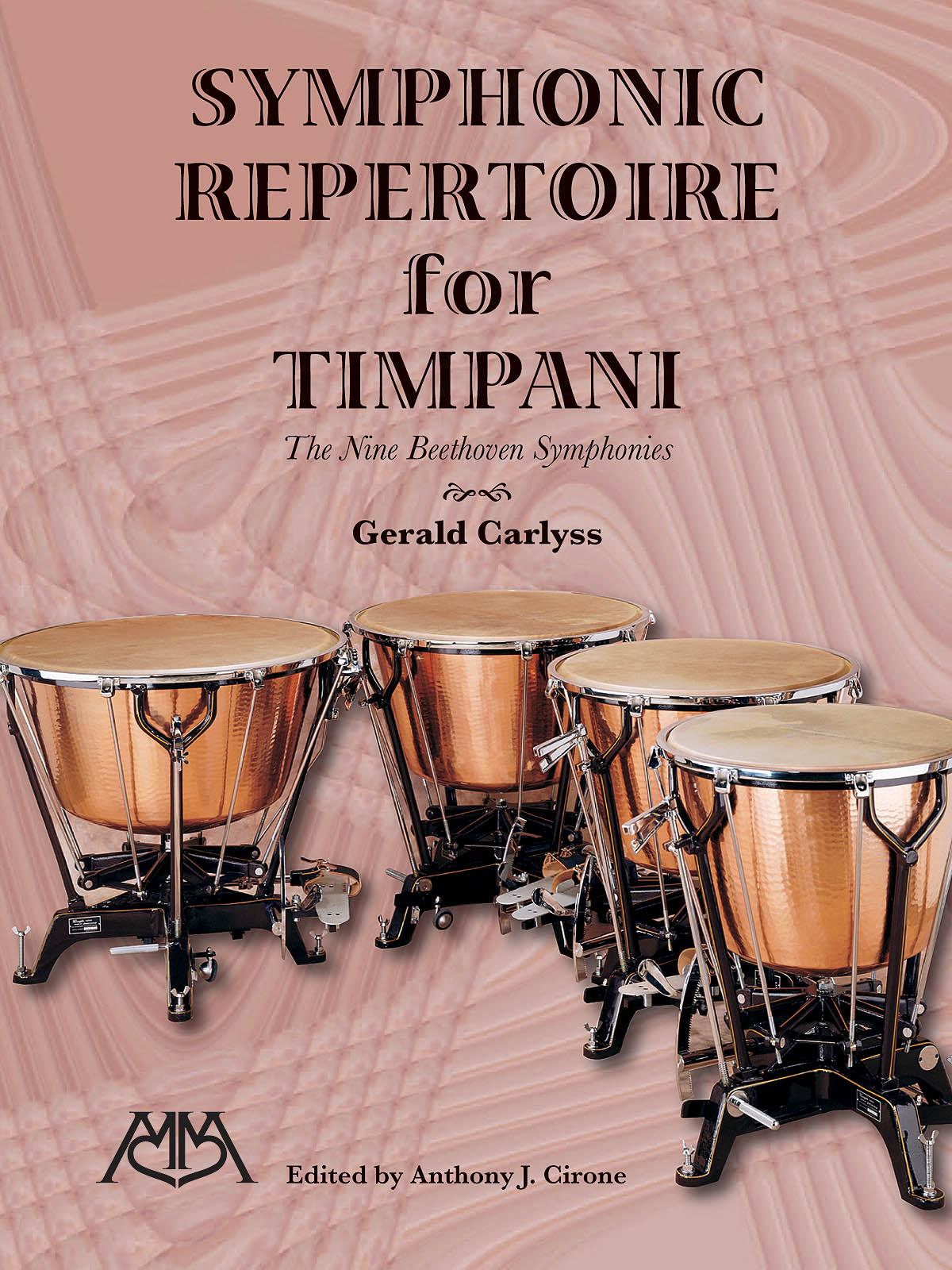 Symphonic Repertoire for Timpani: Timpani: Score