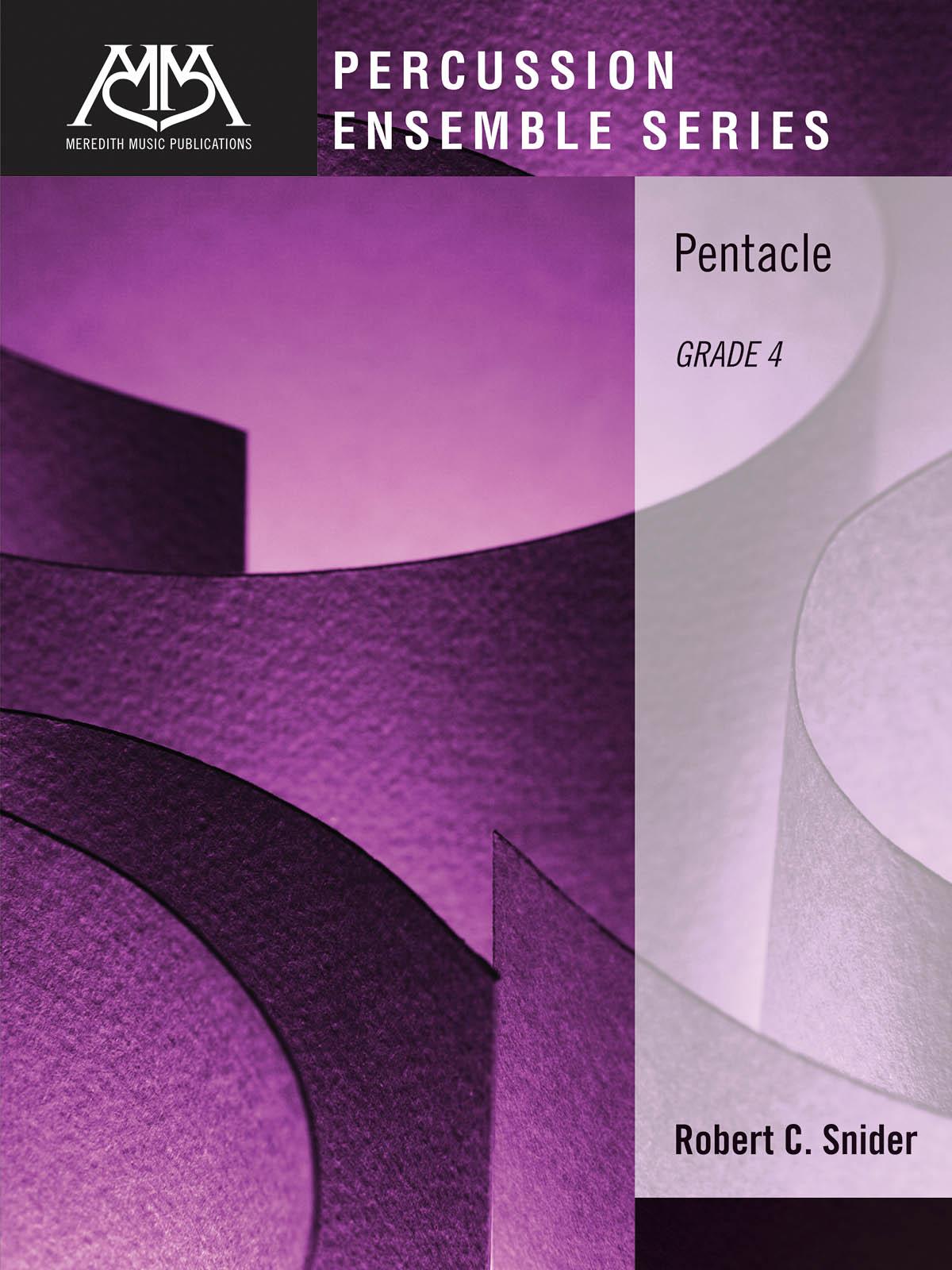 Robert Snider: Pentacle: Percussion Ensemble: Score & Parts