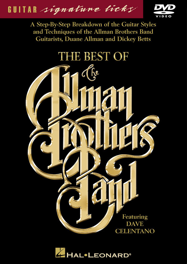 Dave Celentano: The Best of the Allman Brothers Band: Guitar Solo: Instrumental