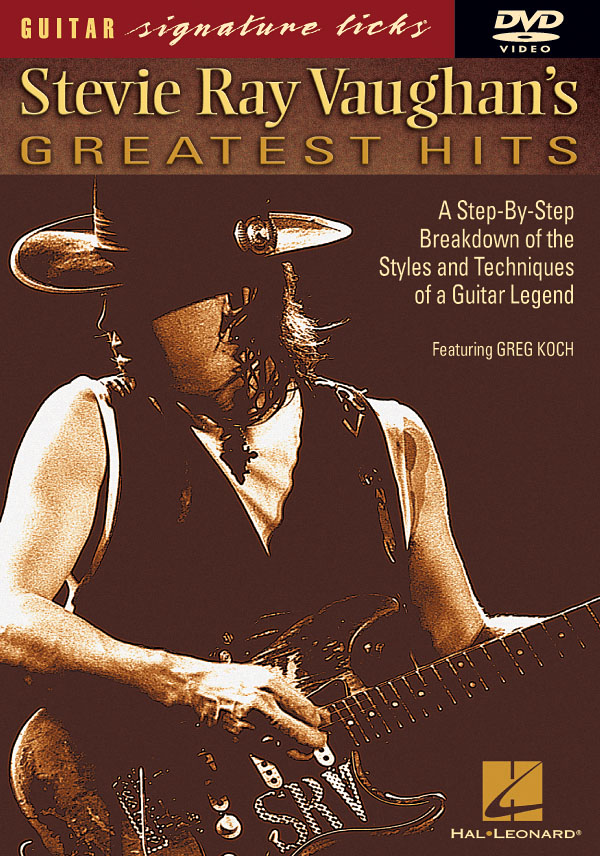 Greg Koch: Stevie Ray Vaughan's Greatest Hits: Guitar Solo: Instrumental Tutor