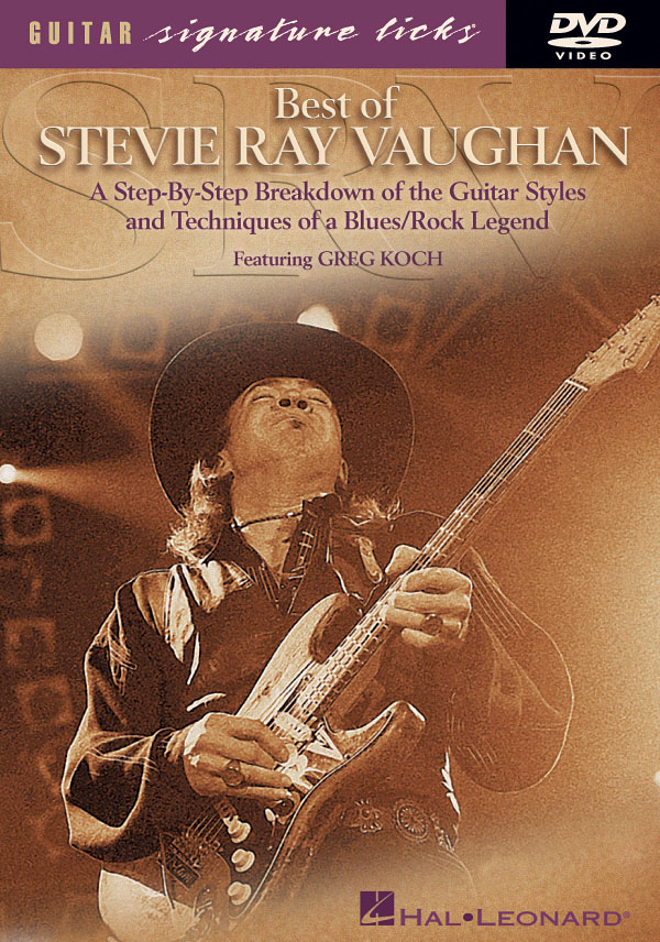 Stevie Ray Vaughan: Best of Guitar Signature Licks [DVD]