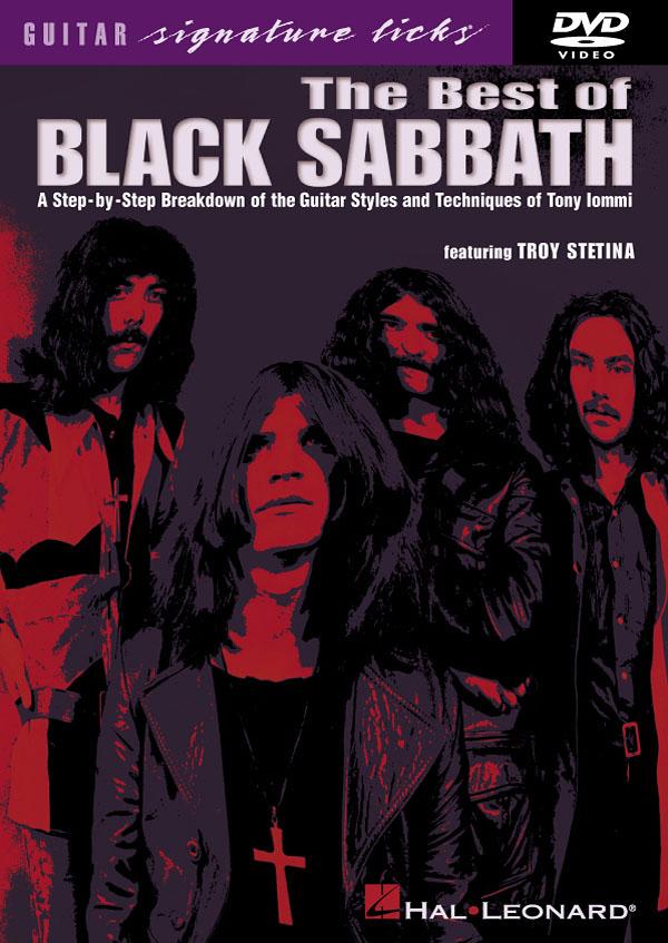Troy Stetina: The Best of Black Sabbath: Guitar Solo: Instrumental Tutor