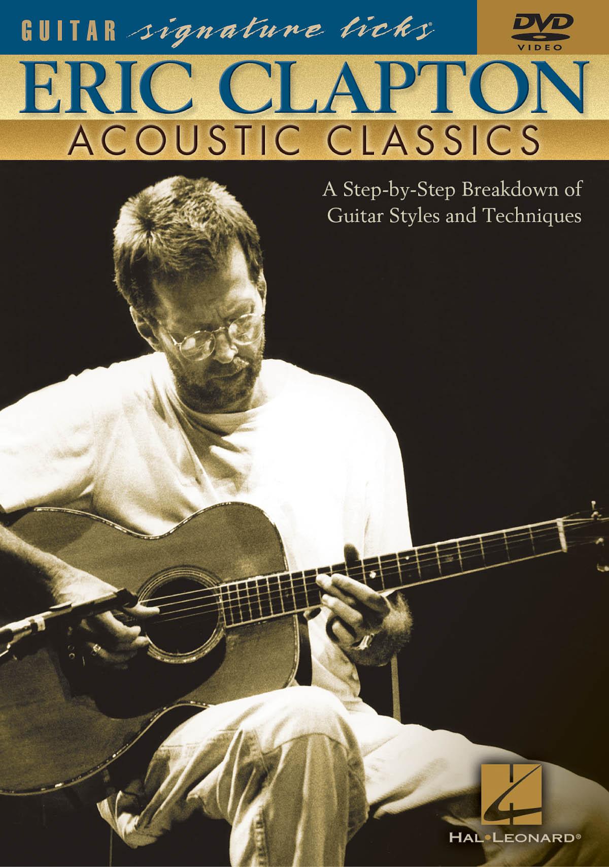 Eric Clapton: Eric Clapton - Acoustic Classics: Guitar Solo: Instrumental Tutor