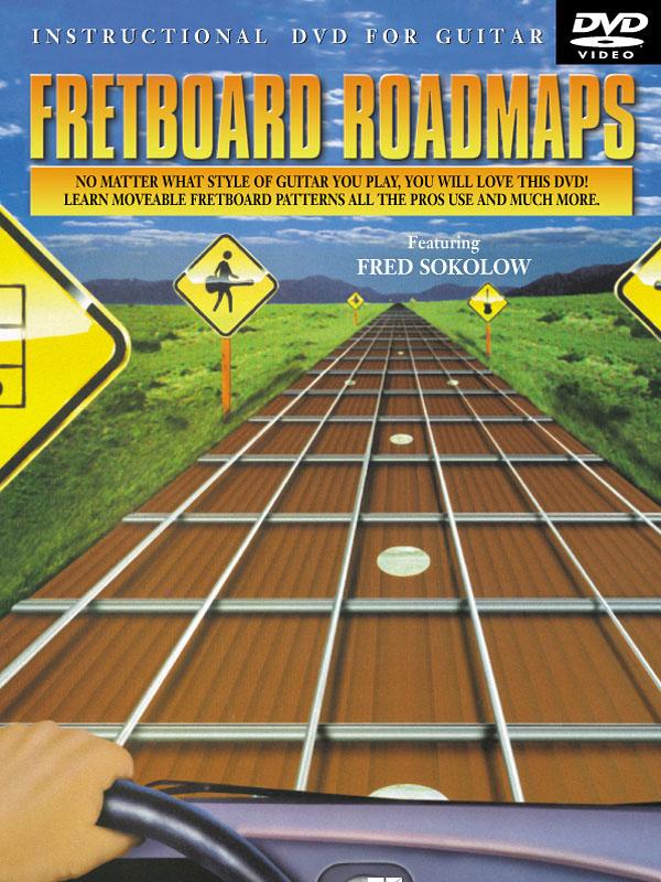 Fred Sokolow: Fretboard Roadmaps: Guitar Solo: Instrumental Tutor