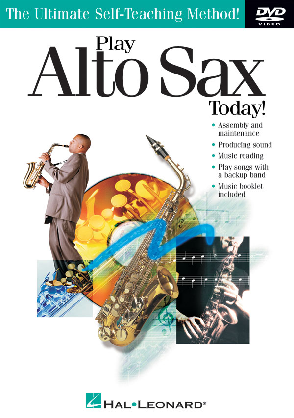 Play Alto Sax Today! DVD: Alto Saxophone: Instrumental Tutor