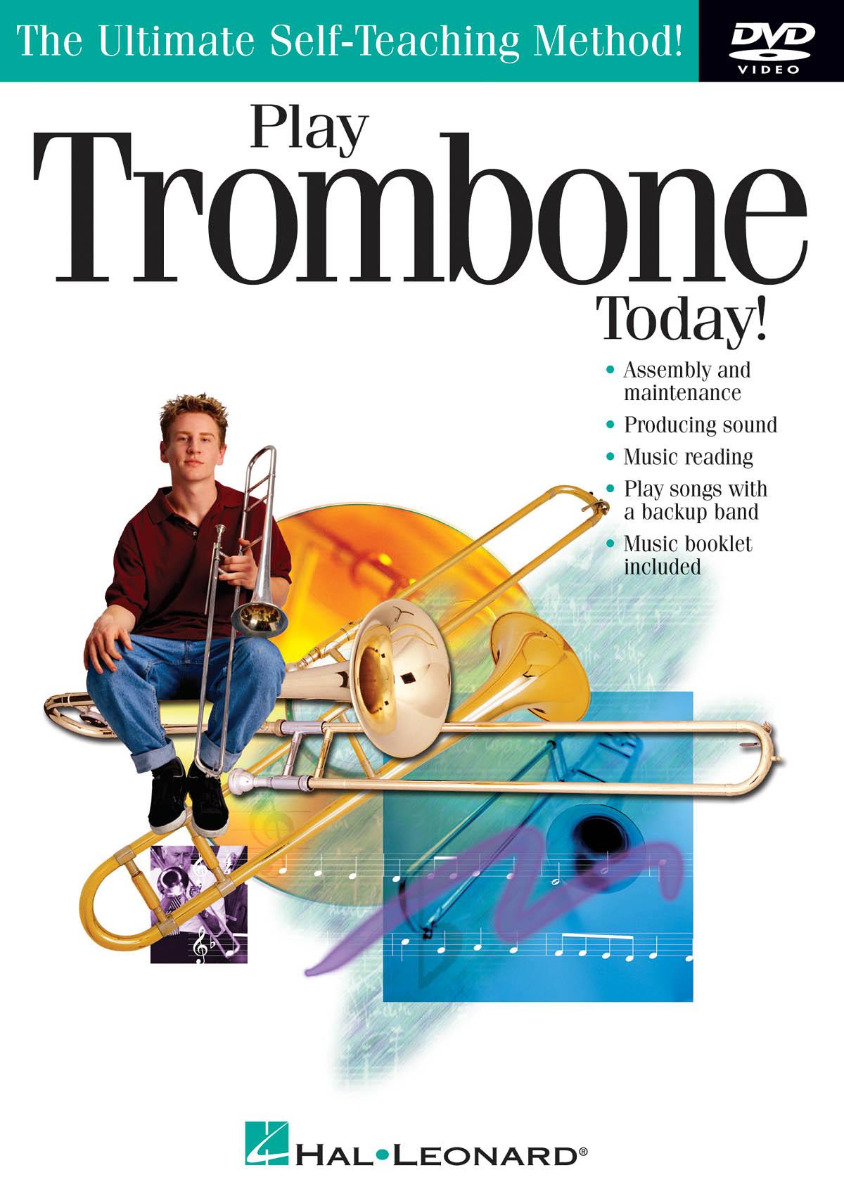 Play Trombone Today!: Trombone Solo: Instrumental Tutor