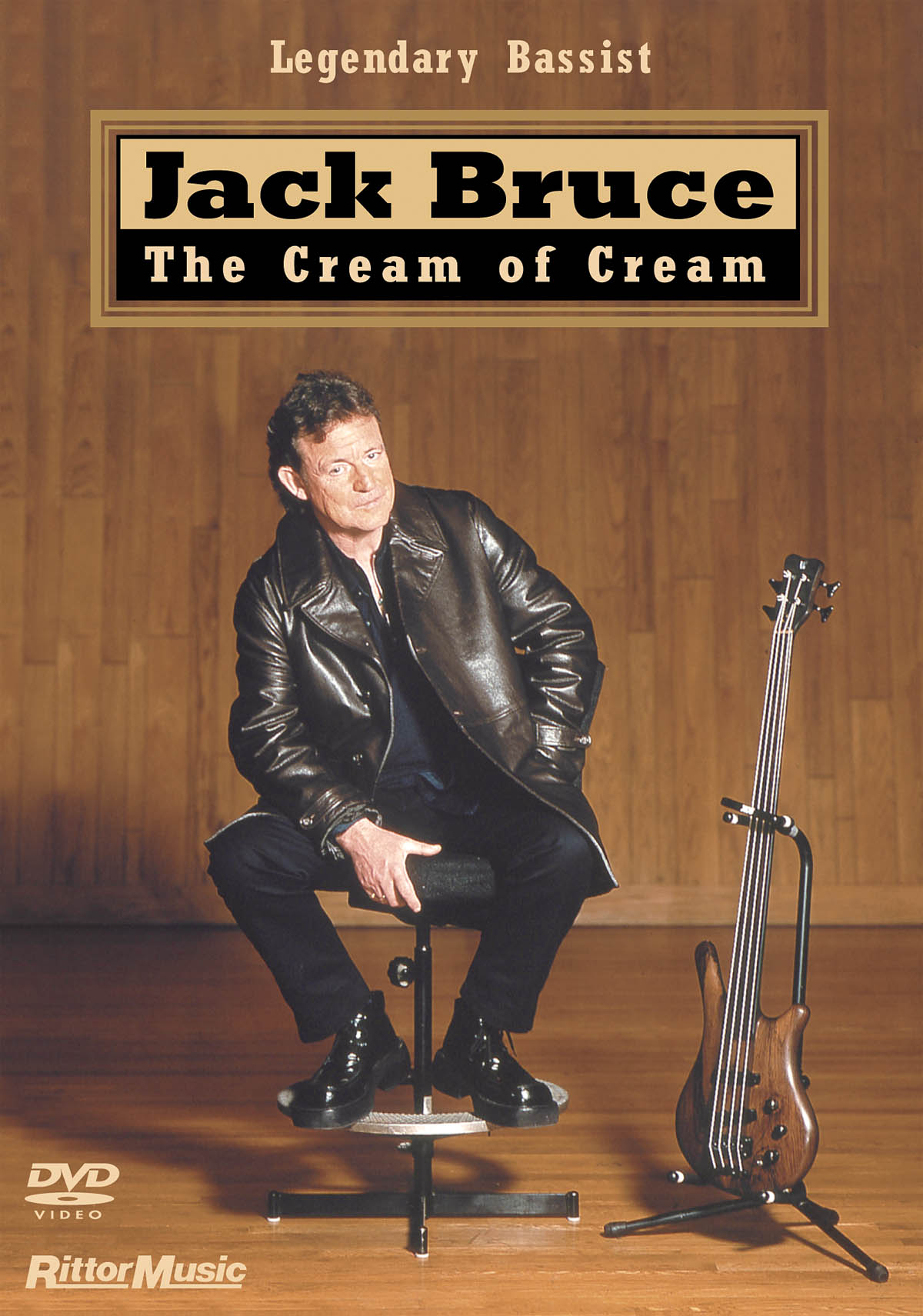 Jack Bruce: The Cream of Cream: Bass Guitar Solo: Instrumental Tutor
