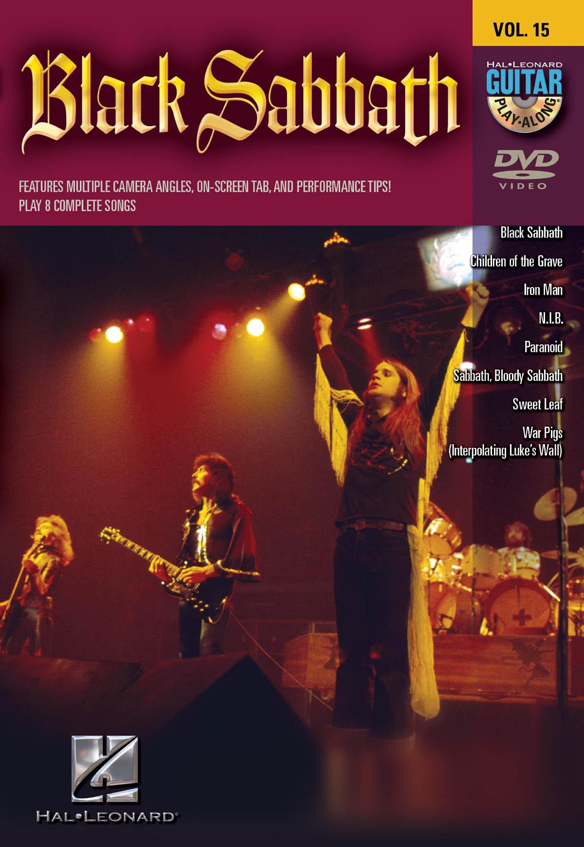 Howard Epstein: Black Sabbath: Guitar Solo: Instrumental Tutor