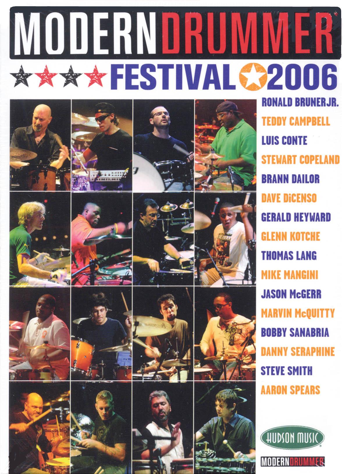 Modern Drummer Festival 2006: Drums: Recorded Performance