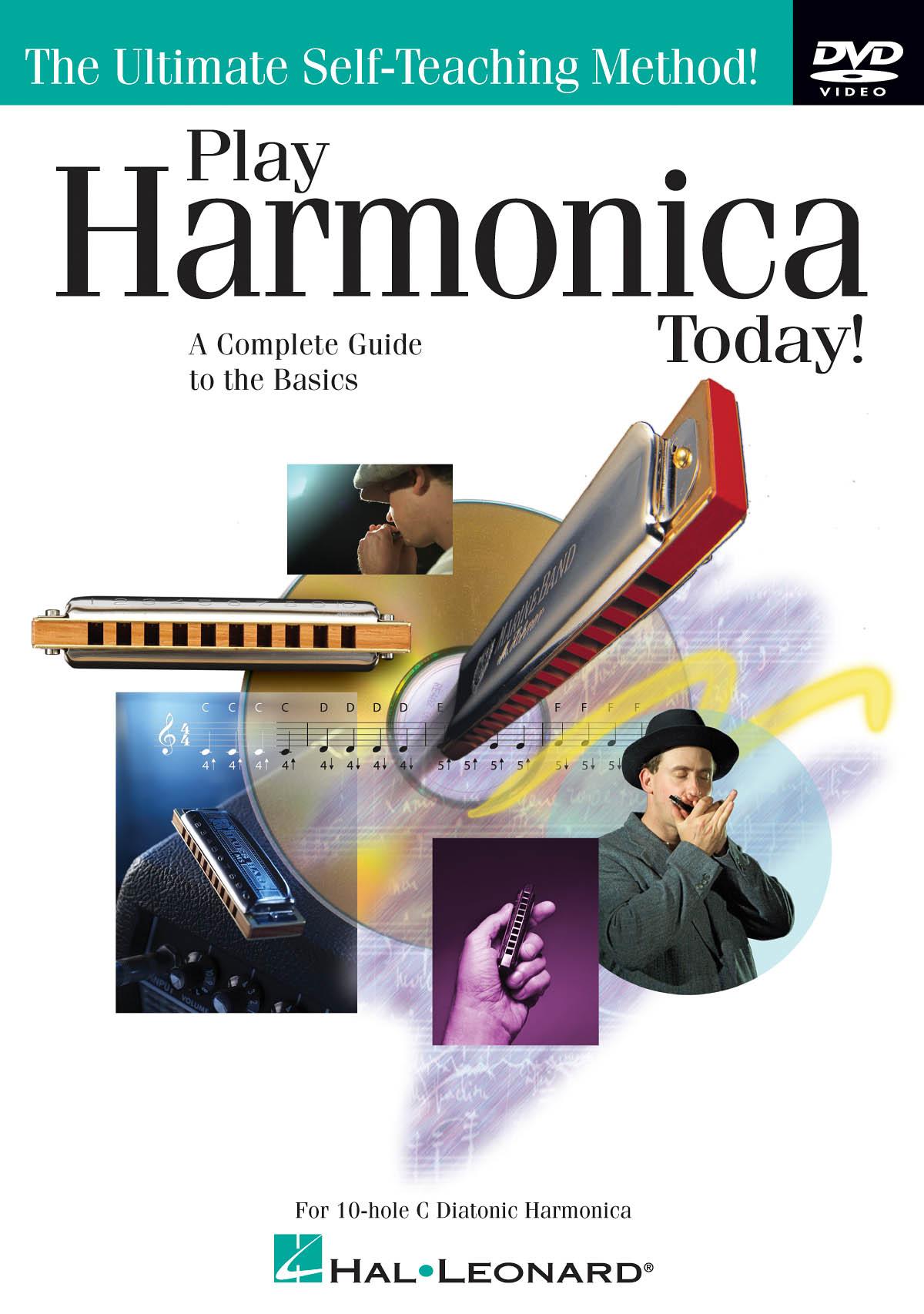 Play Harmonica Today!: Harmonica: Instrumental Tutor
