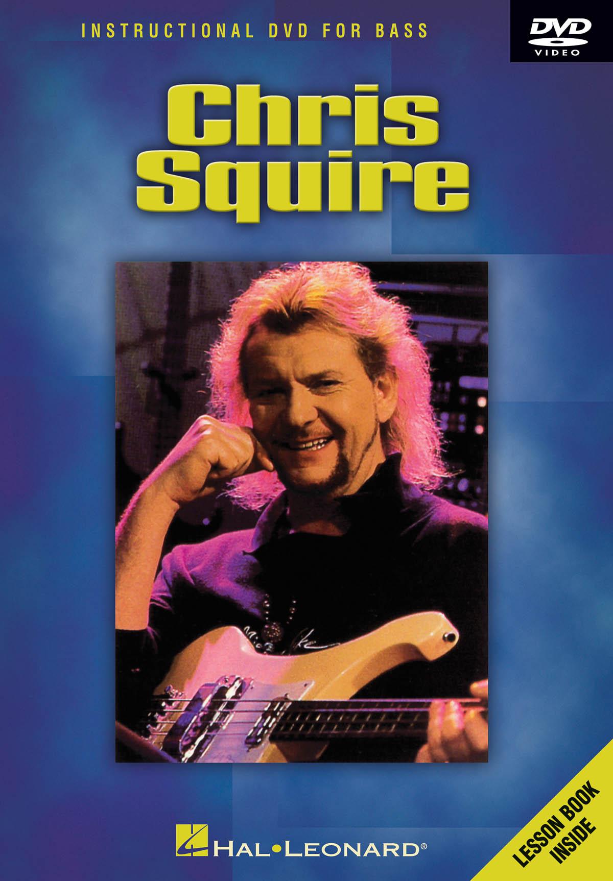 Chris Squire: Instructional Dvd For Bass: Bass Guitar Solo: Instrumental Tutor