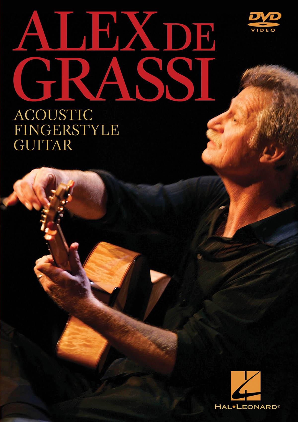 Alex de Grassi - Acoustic Fingerstyle Guitar: Guitar Solo: DVD