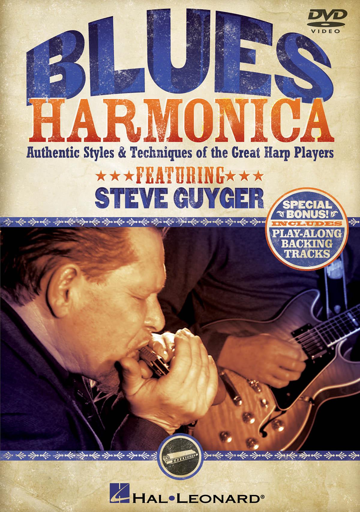Steve Guyger: Blues Harmonica: Harmonica: Instrumental Tutor