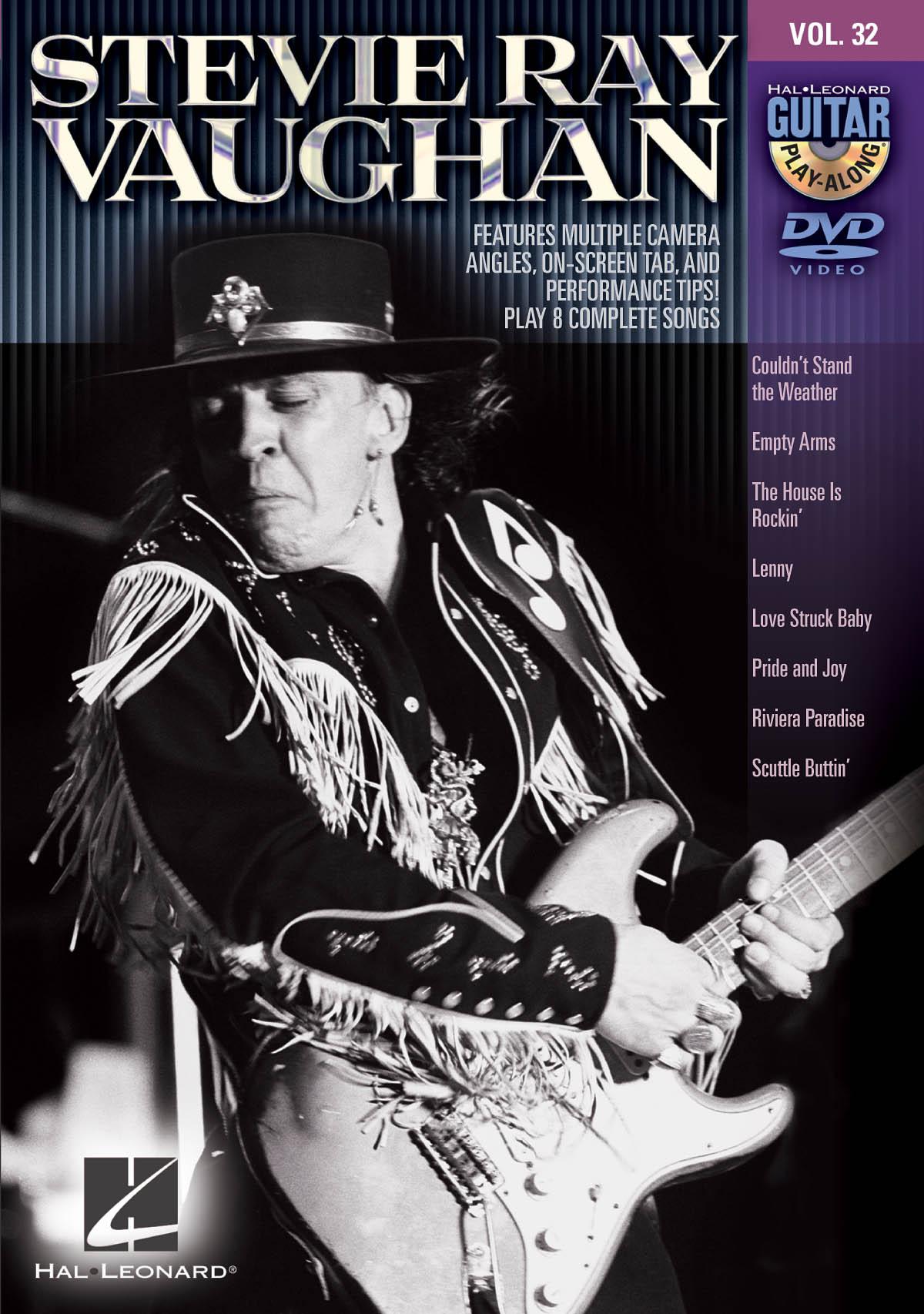 Stevie Ray Vaughan: Stevie Ray Vaughan: Guitar Solo: Instrumental Tutor