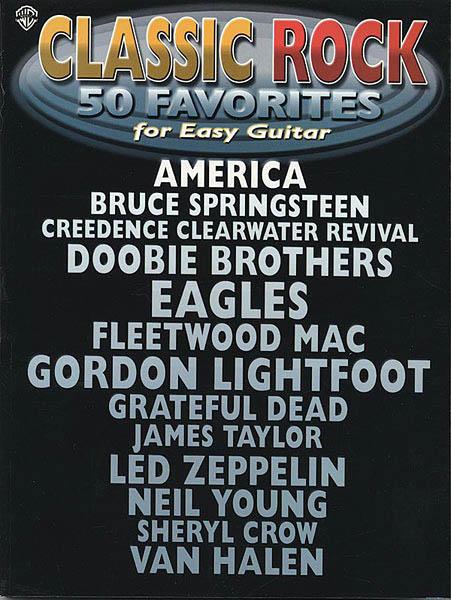 Classic Rock - 5 Favorites for Easy Guitar: Guitar Solo: Instrumental Album