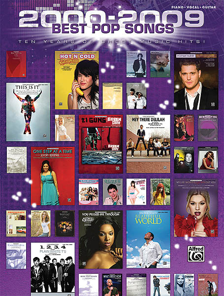 2-29 Best Pop Songs: Piano  Vocal and Guitar: Mixed Songbook