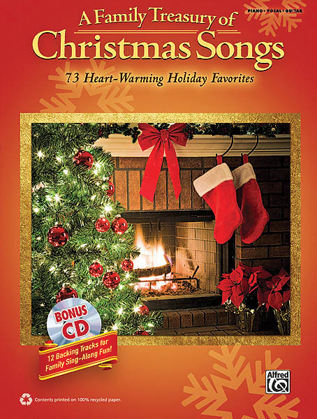 A Family Treasury of Christmas Songs: Piano  Vocal and Guitar: Mixed Songbook