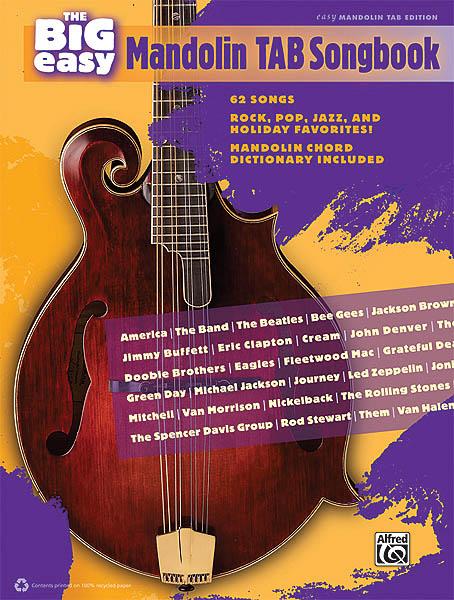 The Big Easy Mandolin Tab Songbook: Mandolin: Instrumental Album