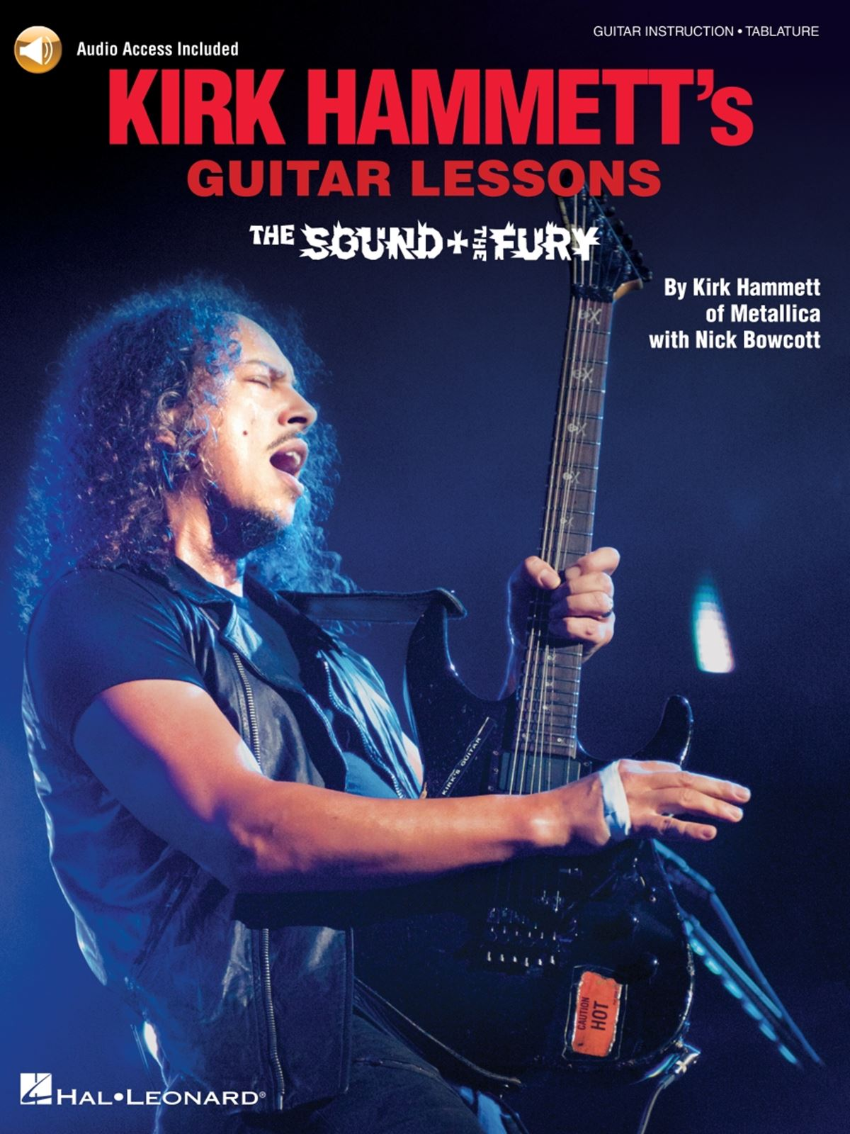 Kirk Hammett's Guitar Lessons:The Sound & the Fury: Guitar Solo: Instrumental
