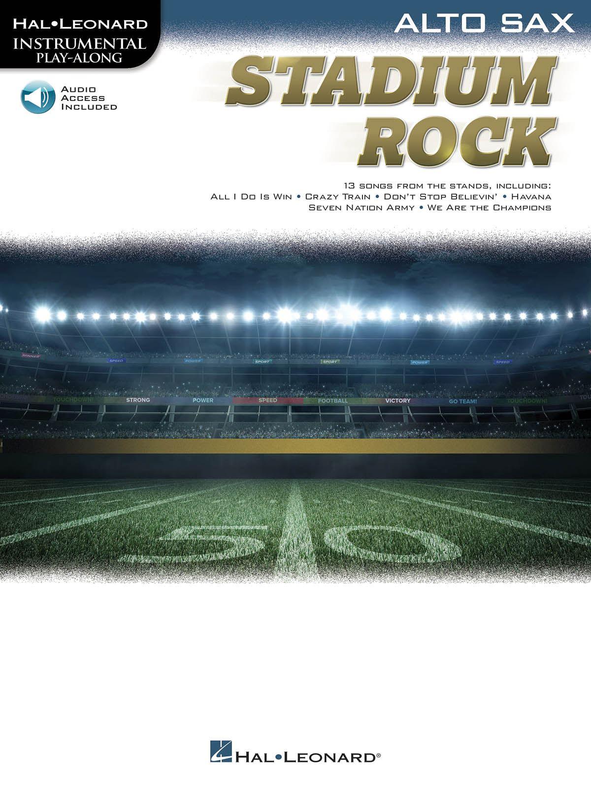 Stadium Rock for Alto Sax: Alto Saxophone: Instrumental Album