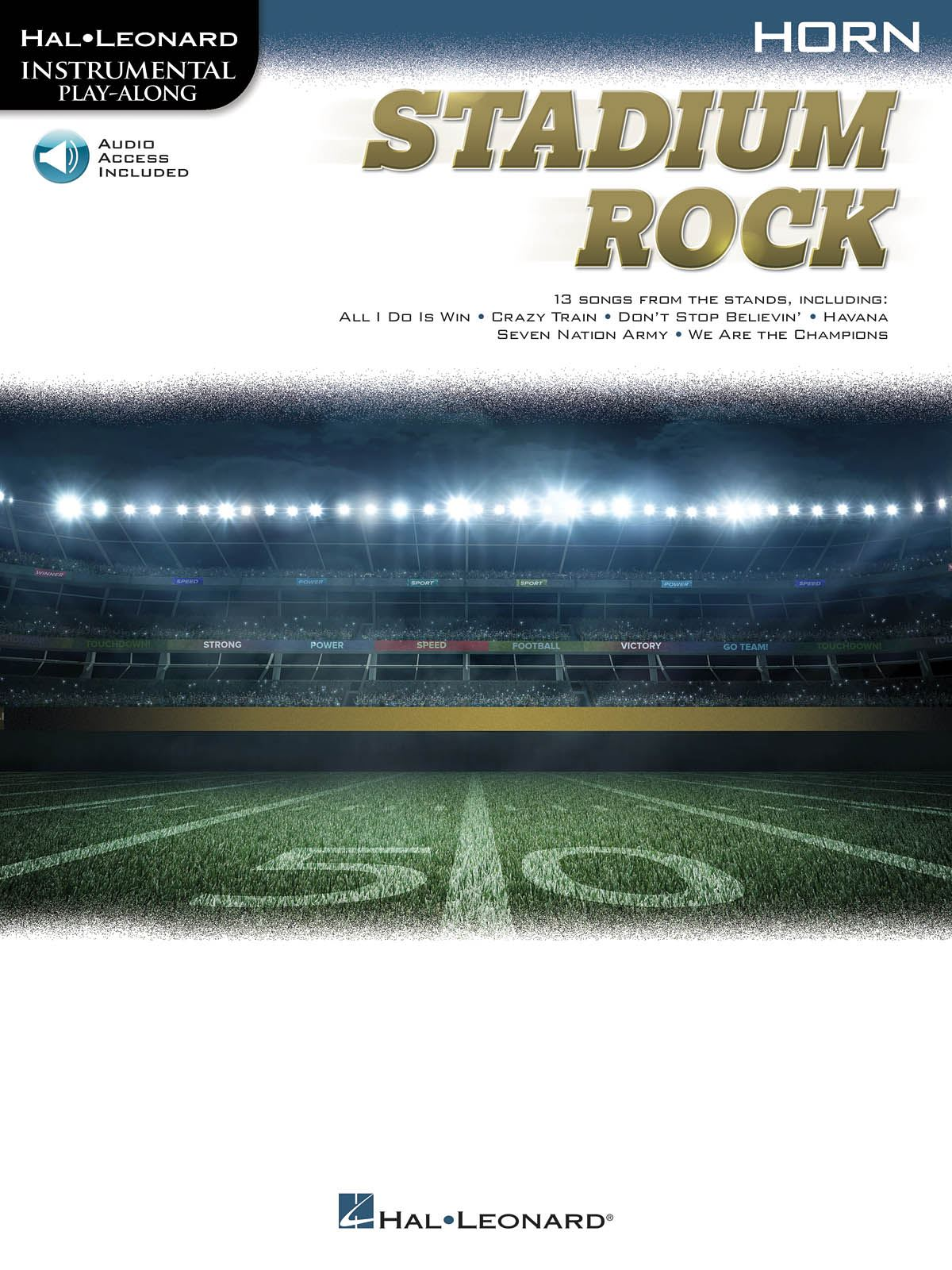 Stadium Rock for Horn: French Horn Solo: Instrumental Album