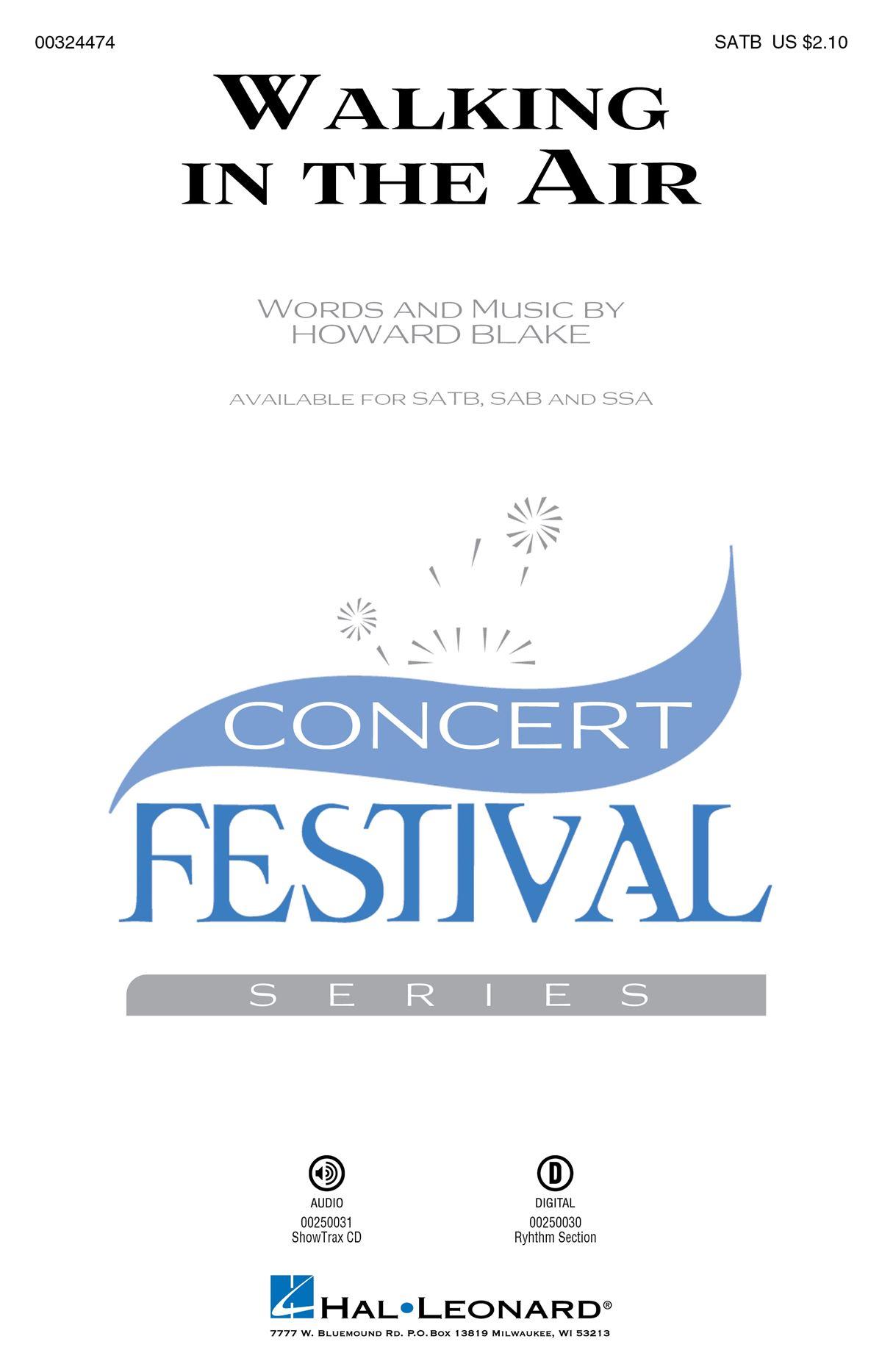 Howard Blake: Walking In The Air: Mixed Choir a Cappella: Vocal Score