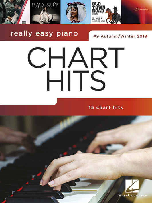 Really Easy Piano: Chart Hits #9: Piano Solo: Instrumental Collection