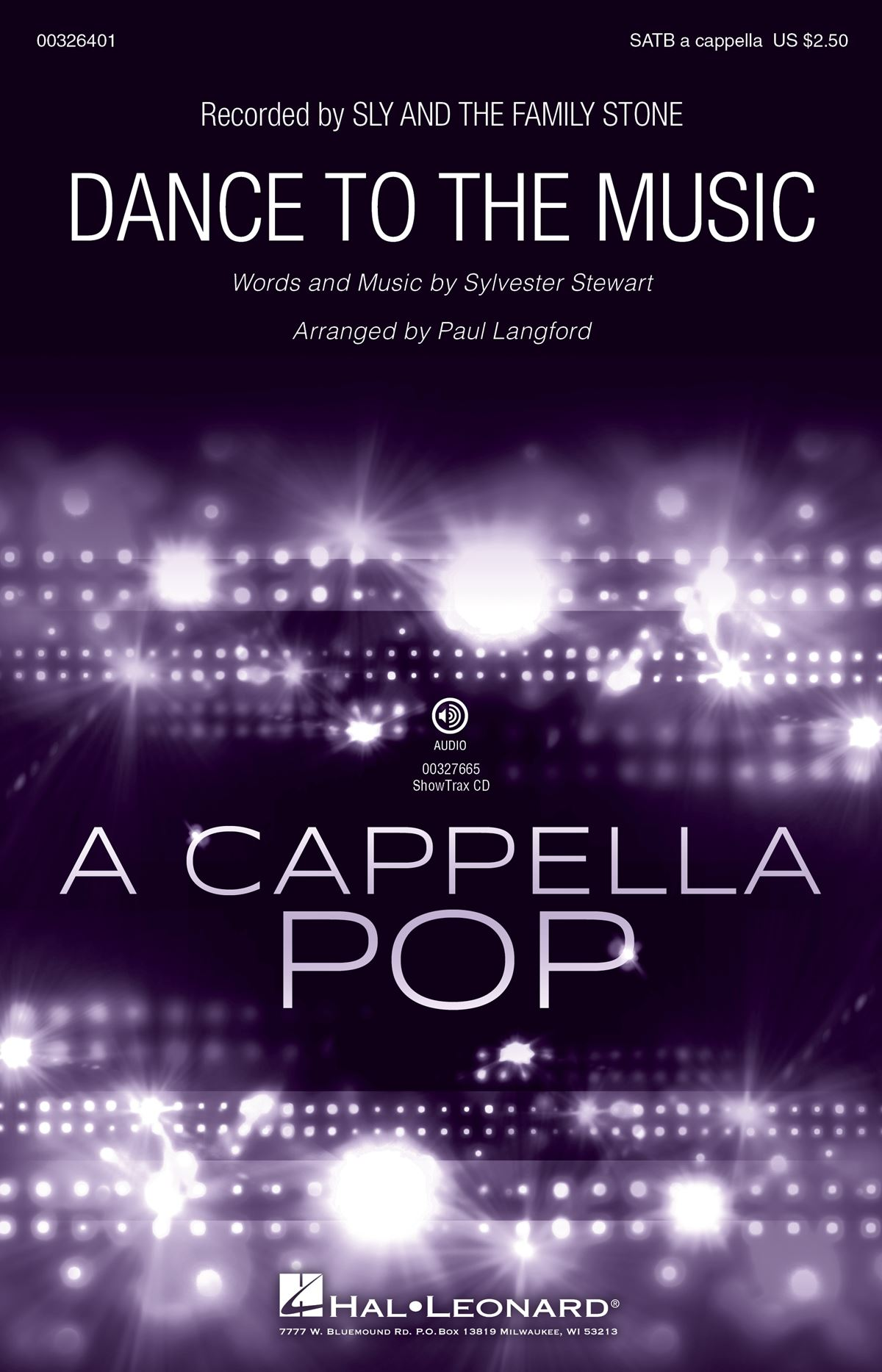 Sly and the Family Stone: Dance to the Music: Mixed Choir a Cappella: Vocal