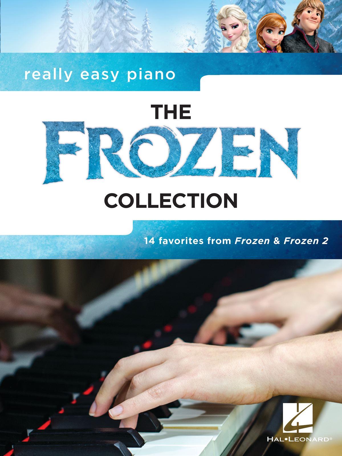 Really Easy Piano: the Frozen Collection: Piano Solo: Album Songbook